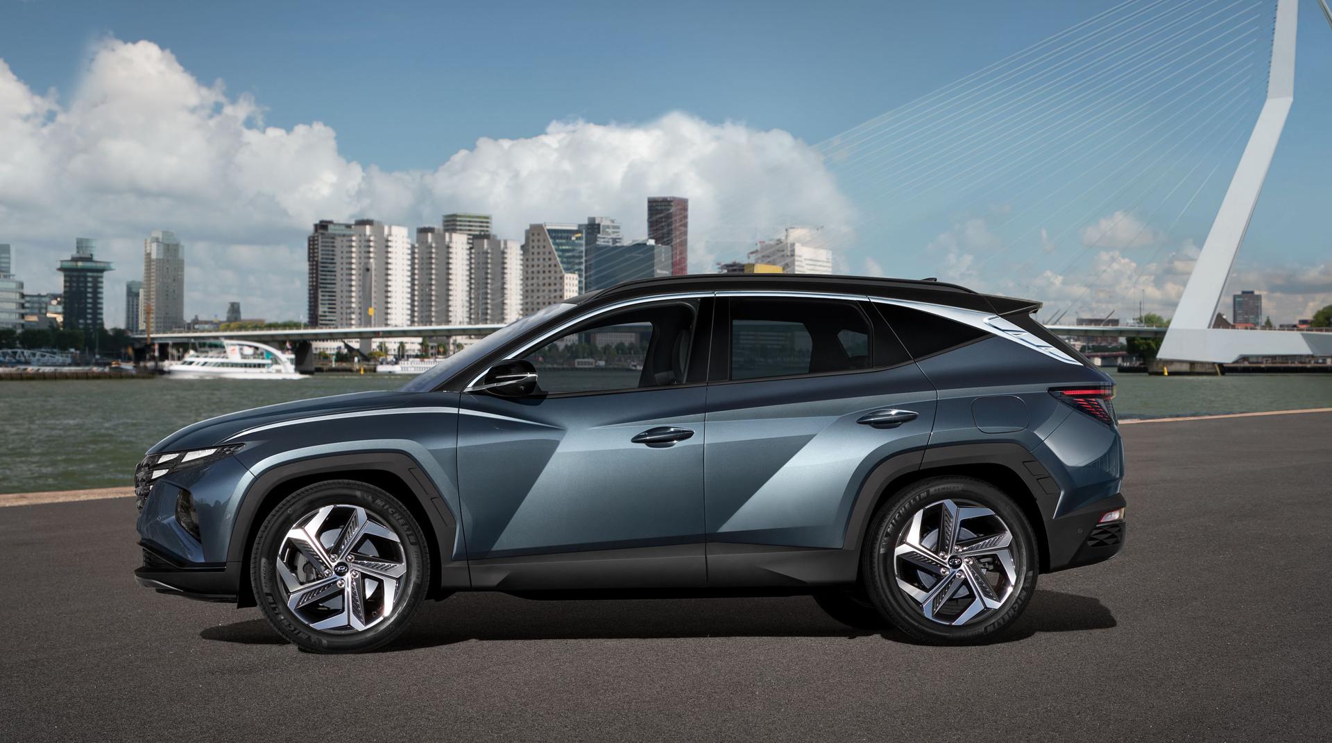 The all new Hyundai Tucson